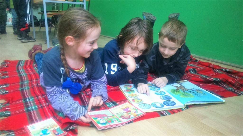 bácsgyulafalvi általános iskola- olvasni a szünetben is lehet és jó