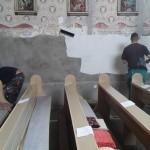 Felújítási munkálatok a GOMBOSI  Egyházközségben