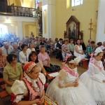 Pünkösdi szentmise a Doroszló-Szentkúton