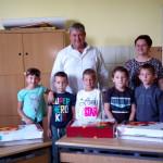 A Magyar Nemzeti Tanács beiskolázási csomagjainak kiosztása