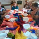 Falusi és városi kisiskolások barátkozása a bácsgyulafalvi Tájházban