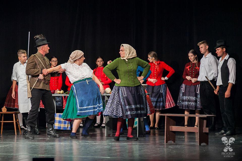 A Trezka című darab Sopronban