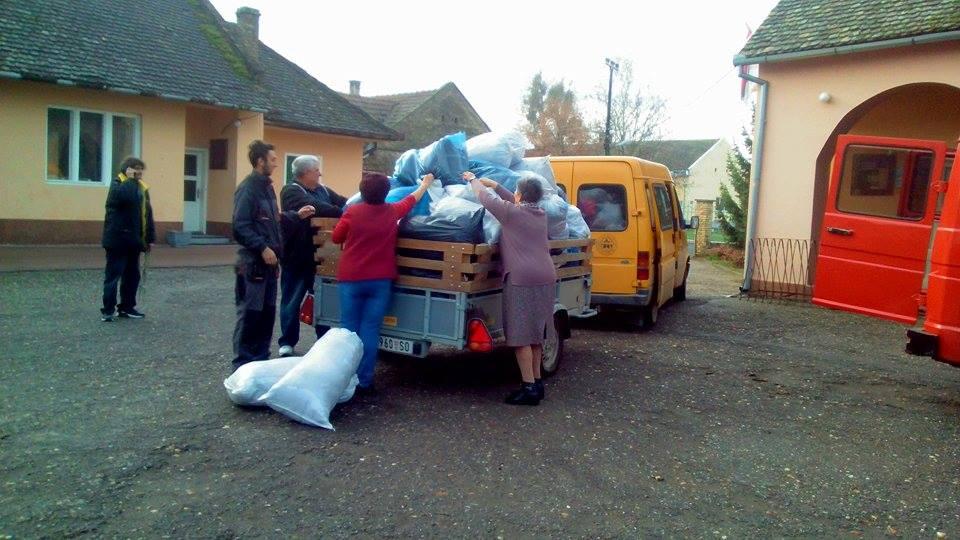 Bezdán- gyűjtés a rászorulóknak