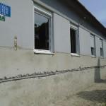 Felújítási munkálatok a plébánián- KUPUSZINA