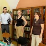 Zombor Város polgármesterének falulátogatása